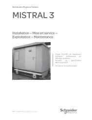 MISTRAL 3 - Schneider Electric
