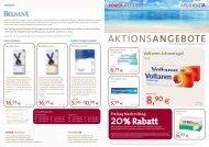 AKTIONS ANGeBOte - Römer Apotheke