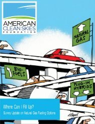 Where Can I Fill Up? 2013 Assessment - American Clean Skies ...
