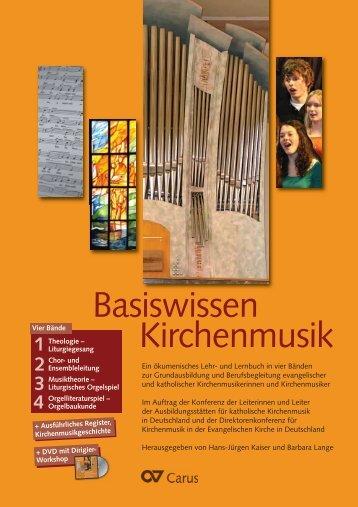Kirchenmusik Basiswissen