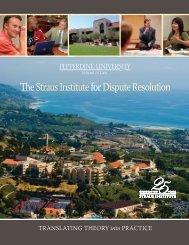 View the Brochure - Pepperdine University School of Law
