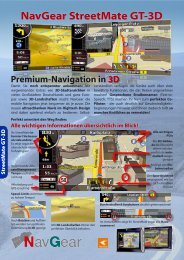 NavGear StreetMate GT-3D