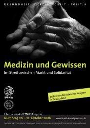 Medizin und Ge Medizin und Gewissen - MEDIZINUNDGEWISSEN.DE