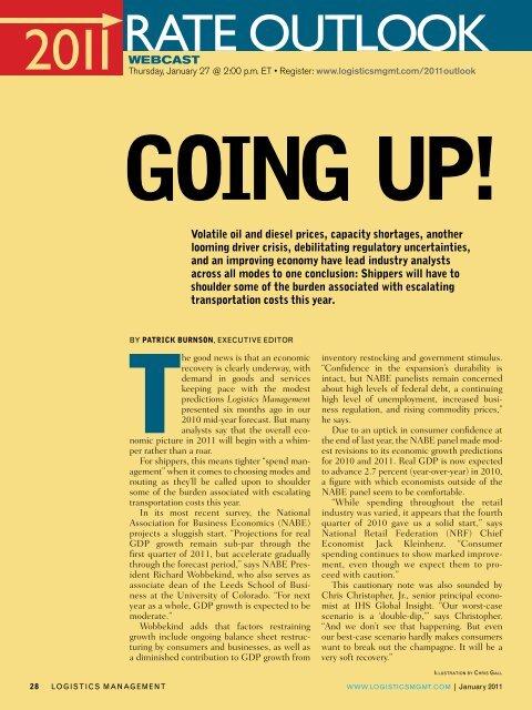 to download the PDF magazine article - Logistics Management