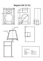Megaton EM 151 Kit - Prodance