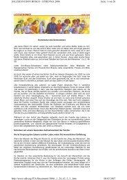 Leitgedanke komplett 2006 - Don Bosco Mission