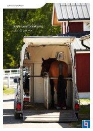 Släpvagnsförsäkring - Länsförsäkringar