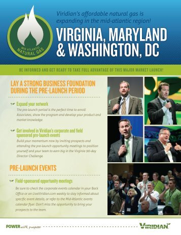 VIRGINIA, MARYLAND & WASHINGTON, DC - Viridian