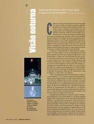Visão noturna - Revista Pesquisa FAPESP