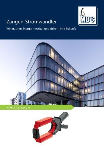 Zangen-Stromwandler - Mbs-ag.com