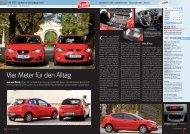 Seat Ibiza 1.4 16V vs. Mazda 2 1.3i - AUTO aktuell