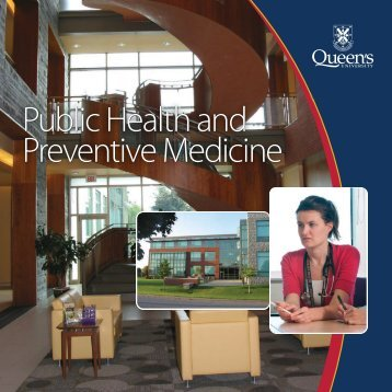 Public Health and Preventive Medicine Public Health and ...