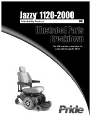 Jazzy® 1120-2000 - Indy Mobility