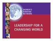 Insert text here - Women's Funding Network