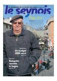 Vote du budget primitif 2010 - La Seyne-sur-Mer