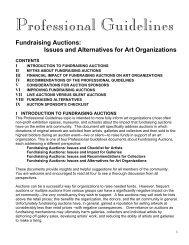 Download PDF Fundraising Auctions - Harriete Estel Berman