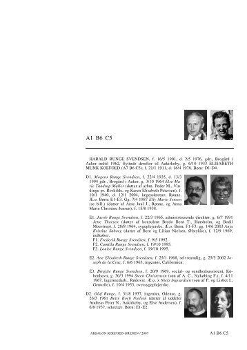 A1 B6 C5 - Lauegaardsfamilien