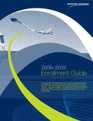 2008-2009 Annual Enrollment Guide ES ... - Benefits Online