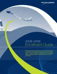 2008-2009 Annual Enrollment Guide ES ... - Benefits Online