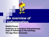 What is inflammation? - Aga Khan University