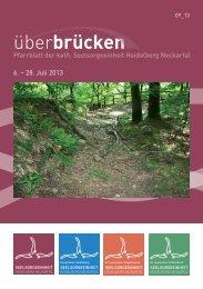 ueberbruecken 9_13 - Seelsorgeeinheit Heidelberg-Neckartal