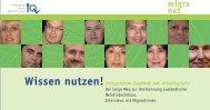Wissen nutzen! - Netzwerk Integration durch Qualifizierung
