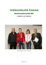 Bezirksmeisterschaft Ennstal LG + LP