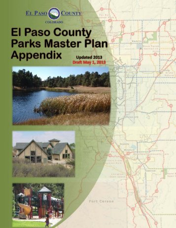 Draft Master Plan Appendices - Administration Home - El Paso County