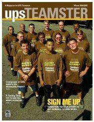 UPS Teamster Magazine, Winter 2004/2005 - International ...
