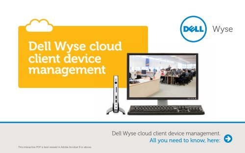 Dell Wyse cloud client device management - Wyse Technology