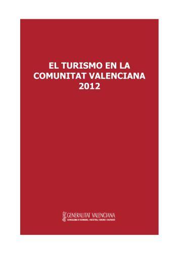 El Turismo en la Comunitat Valenciana 2012 - Turisme