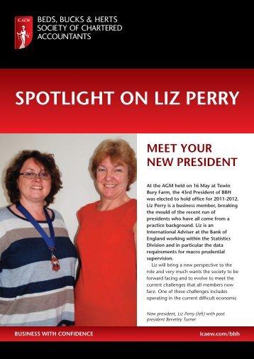 SPOTLIGHT ON LIZ PERRY - ICAEW