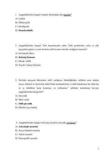 idari mali işler şef soruları - Enerji ve Tabii Kaynaklar Bakanlığı