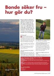 Bonde söker fru – hur gör du? - Hushållningssällskapet Östergötland