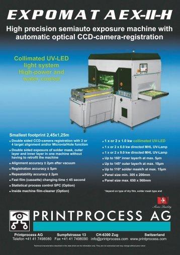 expomatae x-ii-h - Printprocess AG