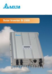 Solar Inverter SI 2500 - ET SolarPower GmbH