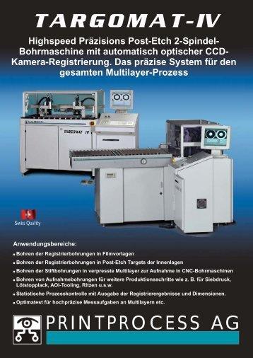 Targomat IV DE Page1.cdr - Printprocess AG