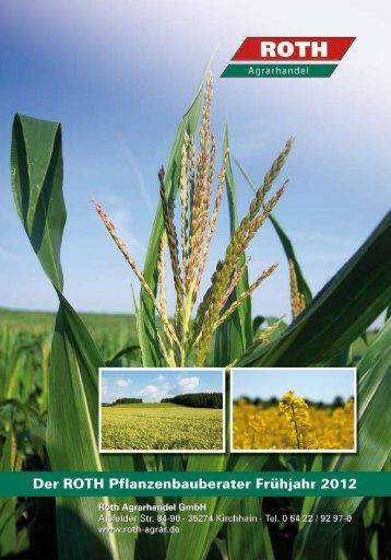 Herbizide im Getreide - Frühjahr