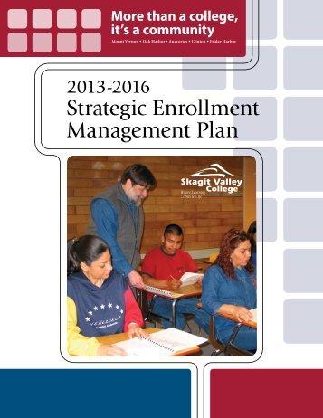 Strategic Enrollment Management Plan - Skagit Valley College