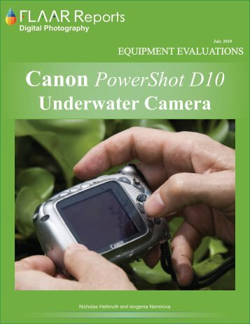 Canon PowerShot D10 - Digital Photography