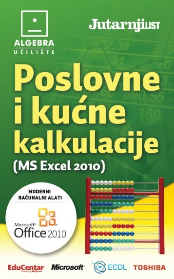 MS Excel 2010 - Jutarnji list