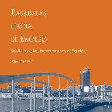 PASARELAS EL EMPLEO HACIA - Barcelona Activa