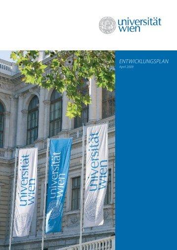 Entwicklungsplan der Universität Wien 2012