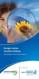 Energie nutzen, Umwelt schützen. - Expedition N