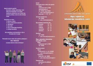 Agentūrā kvalificēti speciālisti - Nodarbinātības Valsts Aģentūra