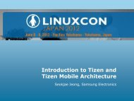 What is Tizen - The Linux Foundation