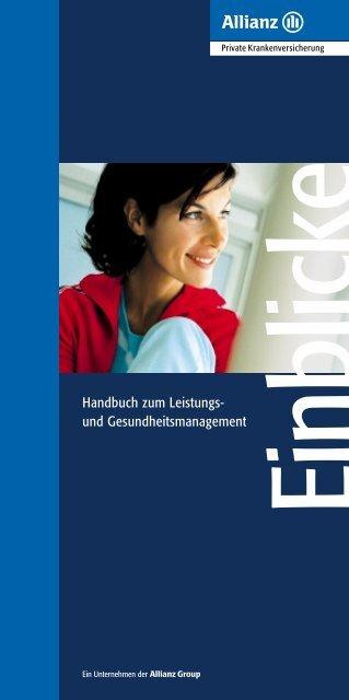 Handbuch zum Leistungs- und Gesundheitsmanagement - WMD ...