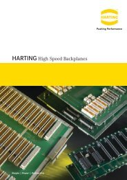 HARTING High Speed Backplanes