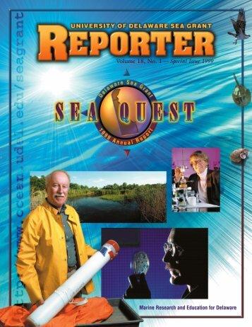 1999 Reporter - Delaware Sea Grant