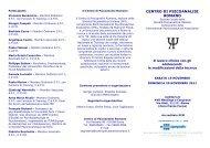 CENTRO DI PSICOANALISI ROMANO - Psicoterapeuti.info